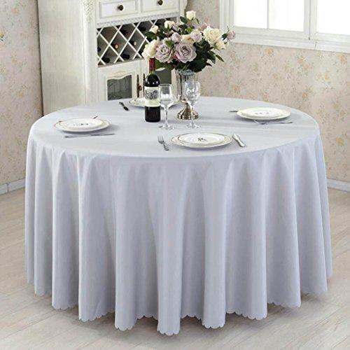 HHCQY Couchtisch Solide Tischdecke Hotel Restaurant Konferenztisch (Hellbraun, Blau, Grau, Hellpurpur) (Farbe : Grau, größe : 220CM)