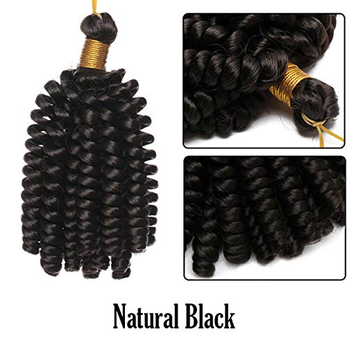 Your Favor Mall Haarverlängerung, 3 Bundles, natural black Jumbo-wand