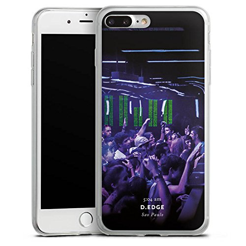 Apple iPhone X Slim Case Silikon Hülle Schutzhülle Club House Techno Silikon Slim Case transparent