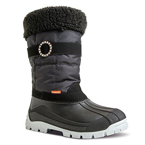Demar Anette Bottes d'hiver doublées en laine Noir - Noir