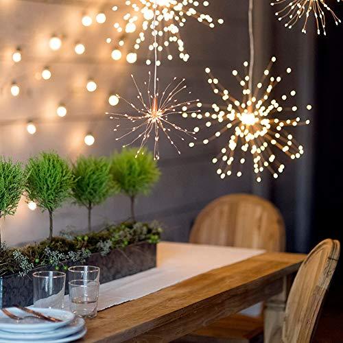 terketten, Feuerwerk Fairy Light Outdoor für Hochzeit Garten Dekoration Holiday Lights ()