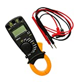 #10: MagiDeal Portable Digital Multimeter LCD Clamp AC DC Voltage Current AMP DMM Tester