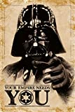 Star Wars PP33491 (Your Empire Needs You) Maxi Poster, Bois Dense, Multicolore, 61 x 91,5 cm