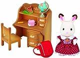 Sylvanian Families - Set Hermana Coneja Chocolate con escritorio (Epoch para Imaginar 5016)