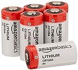 AmazonBasics - CR123A-Lithium-Batterien, 3 V, 6er-Pack