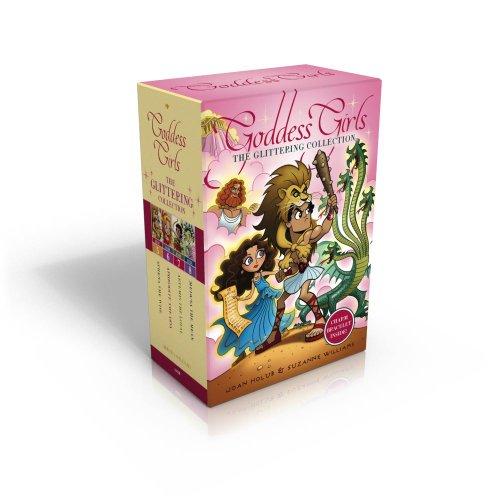 Goddess Girls Set: The Glittering Collection: Books 5-8
