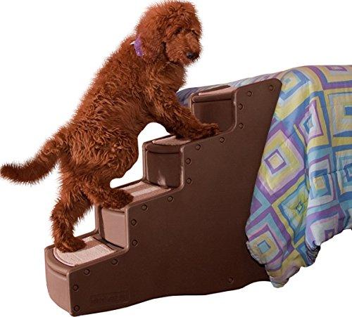 Artikelbild: Pet Gear Treppe für Tiere, 4 Stufen, groß, Schokoladenbraun