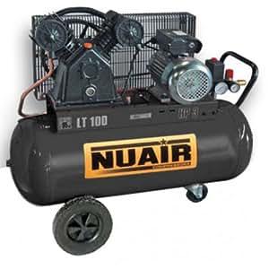 Compresseur NUAIR 3 CV, cuve 100 litres, 230 Volts