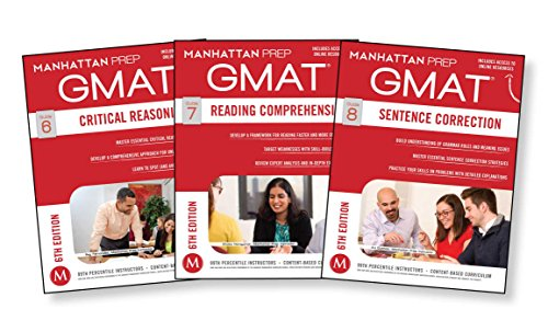 GMAT Verbal Strategy Guide Set (Manhattan Prep GMAT Strategy Guides)