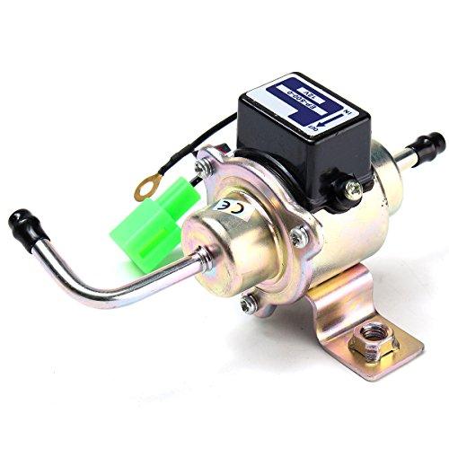 Marine-diesel-generator (ILS - 12V Universal Low Pressure Gas Diesel Electric Fuel Pump 1/4inch Tubing 3-5 PSI)