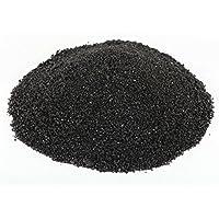 Sabbia cristallina da acquario, stile reef tropicale, colore nero, 10 kg