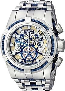 Invicta - 13753 - Montre Homme - Quartz - Chronographe - Bracelet Acier Inoxydable Argent
