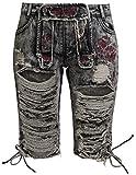 Black Premium by EMP Calla Girl-Shorts Anthrazit 28