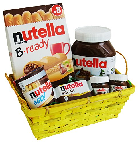 Easter Hamper with Nutella Specialities (6 parts)