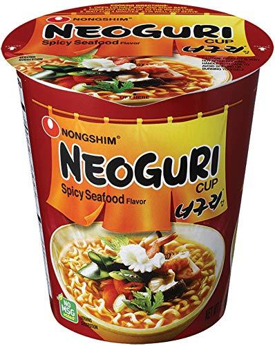 Nongshim Neoguri piccante frutti di mare Sapore Cup Noodle Soup (confezione da 12)