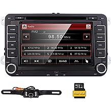 EinCar doppio Baccano 2 7 pollici stereo Size Car DVD GPS Nav Radio per VW Passat T5 Golf MK5 Jetta + Camera