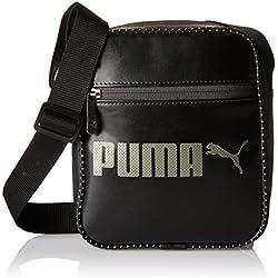 Puma Campus Portable Sac à bandoulière Mixte, Black, Taille Unique