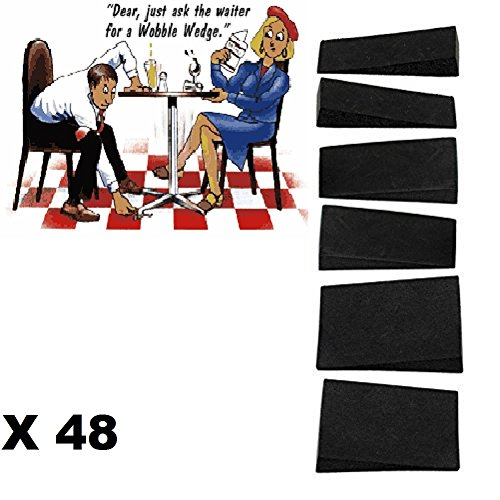 48-wobble-wedge-stoppers-fix-uneven-table-furniture-stabilisers-restaurant-cafe-catering-retail-shim