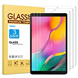 apiker [3 Packs Protector Pantalla Compatible con Samsung Galaxy Tab A 10.1 2019 (T510/T515), Cristal Vidrio Templado Premium [9H Dureza] [Alta Definición] [Garantía de por Vida]