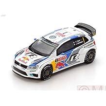 Spark Model S87138 VW Polo R WRC N.1 Monte Carlo 2014 S.OGIER