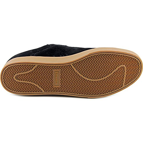 Emerica The Leo NS Hommes Cuir Chaussure de Basket Black-Gum