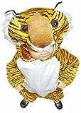 Tiger-Kostüm, AN28 Gr.92-98, für Klein-Kinder, Babies, Tiger-Kostüme für Fasching Karneval, Kleinkinder-Karnevalskostüme, Kinder-Faschingskostüme, Geburtstags-Geschenk Weihnachts-Geschenk