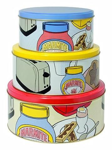 Marmite Tin RCA Cake Tins, Set of