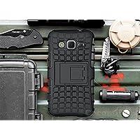 Galaxy Core Prime / Win 2 / Prevail Funda, Cocomii Grenade Armor NEW [Heavy Duty] Premium Tactical Grip Kickstand Shockproof Hard Bumper Shell [Military Defender] Full Body Dual Layer Rugged Cover Case Carcasa G360 G361 (Black)