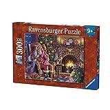 Ravensburger–13217–Puzzle Kuscheln mit Dem Weihnachtsmann–300Teile