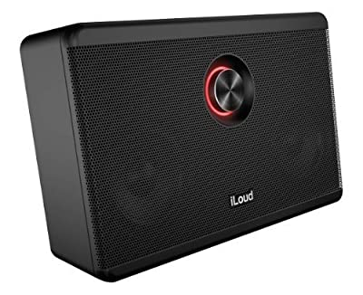 Multimedia iLoud Studio Quality Portable Bluetooth Speaker For iPad & iPhone, Black by IK Multimedia
