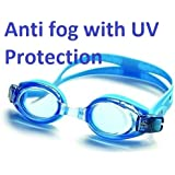 """Mazonnâ""""¢ Anti-Fog, UV Protection, Clear Vision Swimming Goggles"""