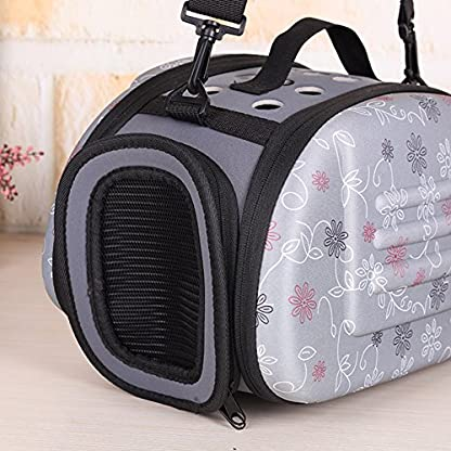 Small Dogs Carrying Bag Foldable Travel Pet Dog Bag Pet Carrier for Dogs Cats Portable Outgoing Handbag Pet Cat Dog… 6