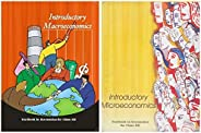 NCERT Introductory Macroeconomics & Microeconomics Textbook for Class 12 - 12105 & 12103 (Set of