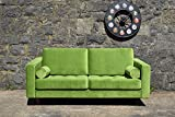 Sofa Venice Vintage Samt Grün 2 Sitzer 190