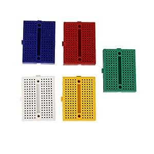 xjpp 5PCS syb-170Color Board Mini kleine Brot Board