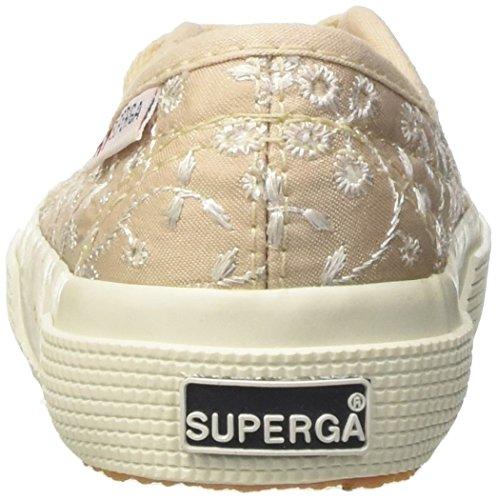 Superga Mädchen 2750-Sangallosatinj Niedrige Sneaker Beige (Ivory)