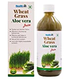 Healthvit Wheat Grass Aloevera Juice - 5...