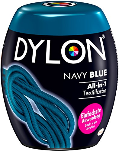 DYLON Navy Blue -Dyepod, 1er Pack (1 x 350 g) -