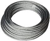 WISWR6-20 - Cable acero Silbor 6mm.Ø x 20mts. **