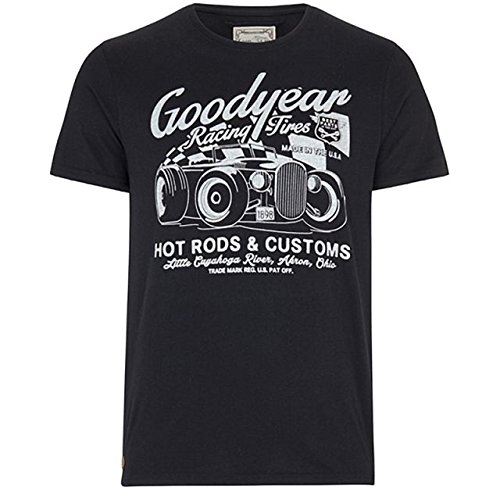 Goodyear T-Shirt Bolton, Color:black;Größe:M