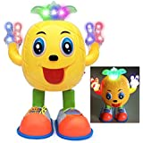 Dancing & Walking Pineapple Baby Toys With Music Dazzling Color Lights Musical Cartoon Dancing Singing Toy & Walking Pineapple Best Gift Toy For Kids