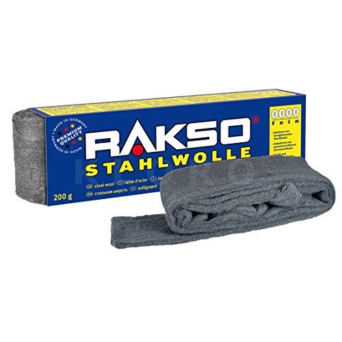 RAKSO Stahlwolle 200g 0000 extrem fein - Verwendet-chrom-felgen