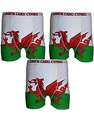 **Bon Marche** 3 Boxeurs pour Homme Pays de Galles