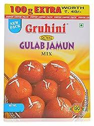 Gruhini Gulab Jamun Mix, 300 grams