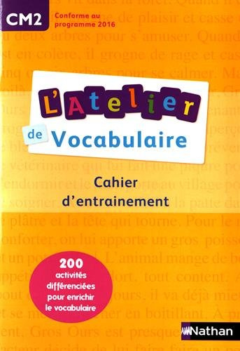 L'Atelier de Vocabulaire CM2
