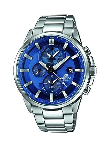 Casio Edifice - Herren-Armbanduhr mit Analog-Display und Edelstahlarmband - ETD-310D-2AVUEF