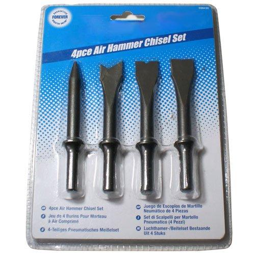 4 Stücke Air Hammer Meißel - Durchschlag Einschweiß Fleck LS, Gardinenschal Cutter, Ri