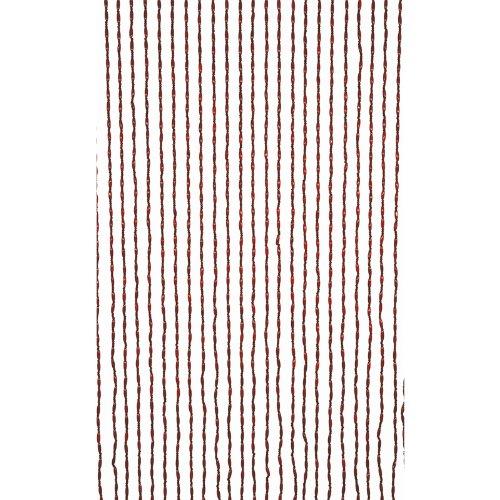 Braun Kolonialstil (Türvorhang Holzperlen Vorhang Massivholz 90 x 220 cm Kolonialstil - braun 62028)