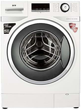IFB 7.5 kg Fully-Automatic Front Loading Washing Machine (Elite Plus VX, White)
