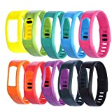WEINISITE Silikon Ersatz Armband mit der Clasps für Garmin Vivofit Armbänder/Garmin Vivofit Fitness, keine Tracker